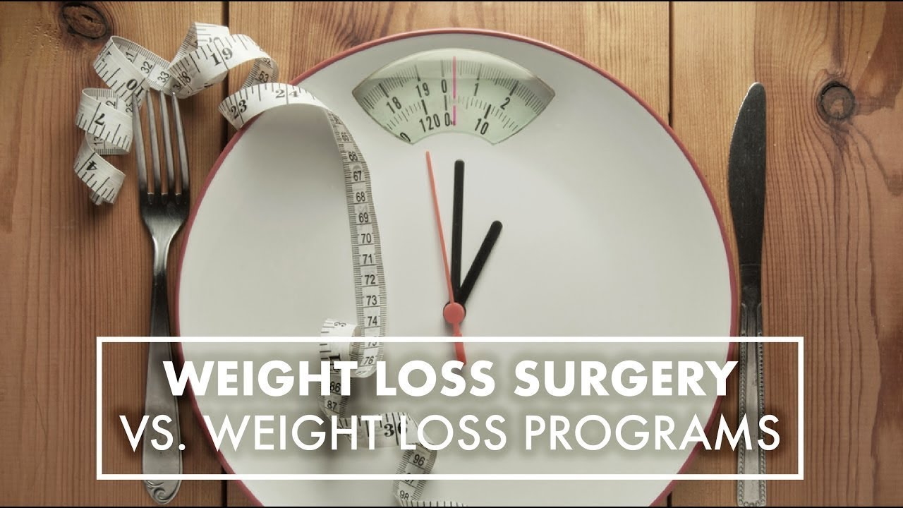 Weight Loss Surgery Vs Weight Loss Programs Dr Theresa Garza