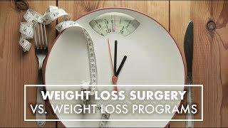 Weight Loss Surgery vs. Weight Loss Programs   Dr. Theresa Garza   Top10MD