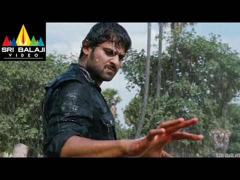 Mirchi Movie Prabhas Powerful Rain Fight Scene | Prabhas, Anushka, Richa | Sri Balaji Video thumbnail