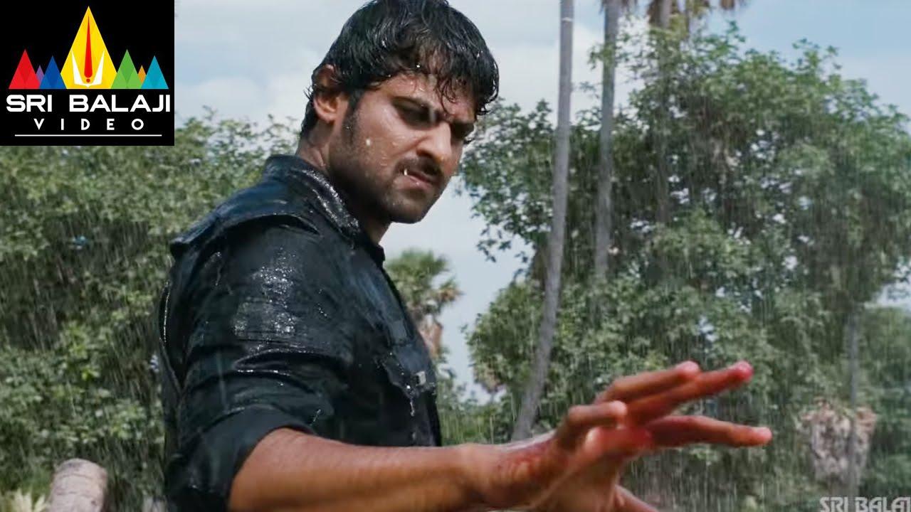 Prabhas In Mirchi: Mirchi Movie Prabhas Powerful Rain Fight Scene