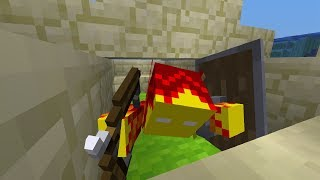 """""""Crawling"""" Glitch in Minecraft 1.13 (Pre-Release 4)"""