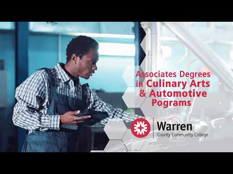 Warren County Community College - Culinary Arts and Automotive Programs