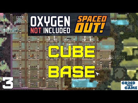 Oxygen Not Included #3 - Spaced Out DLC - CUBE Base