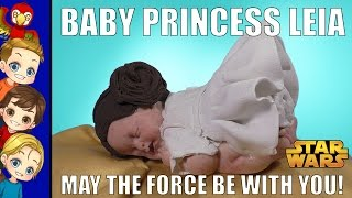 Princess Leia Star Wars Baby Series Homage - R.I.P. Carrie Fisher thumbnail