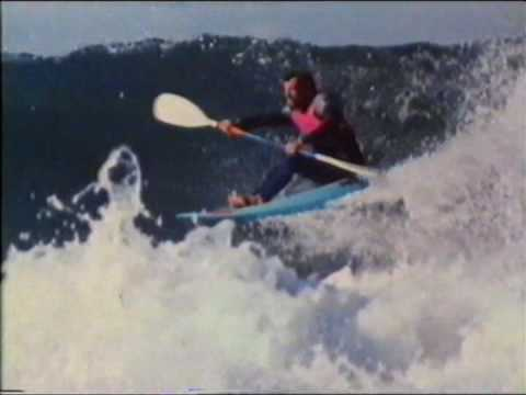 Waveski surfing - John Christensen