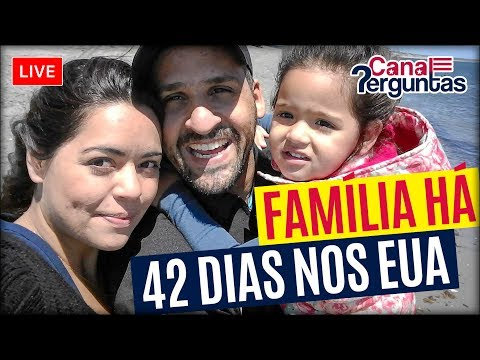 🔴[AO VIVO] Vida de família morando 42 dias em Stratford Connecticut EUA ✔