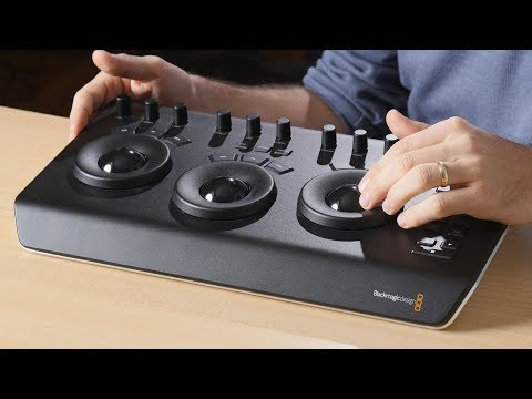 Boost your color grading  with Blackmagic Micro Panel