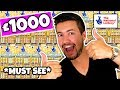 I BOUGHT £1000 OF SCRATCH CARDS... YOU WON'T BELIEVE WHAT I WIN!
