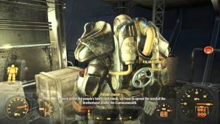 Fallout 4 Brother Hood Of Steel KNIGHT T60 Power Armor HD