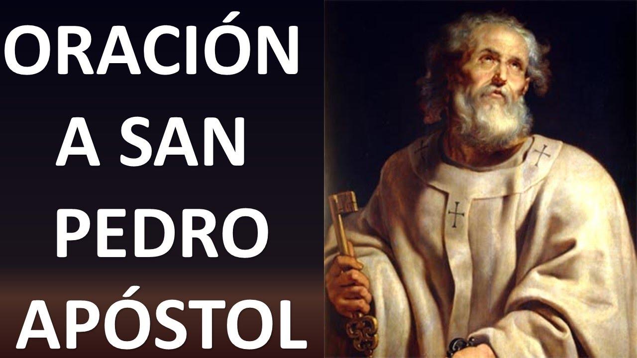 Oracion A San Pedro Apóstol Oracion Y Paz Youtube