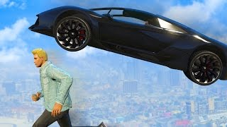 IMPOSSIBLE DEATH RUN CHALLENGE | GTA 5 Funny Moments
