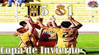 THE STRONGEST 5 vs Real Potosi 1, Relato Quique Rivera, Copa de Invierno Cine Center 2015