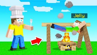 Using A MINECRAFT MOD To Cook JELLY!