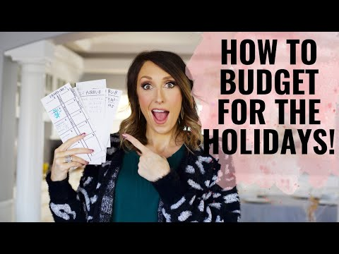 Budgeting for the Holidays – The EASY way!