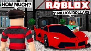 SELLING MY FERRARI FOR $1,000,000 IN ROBLOX