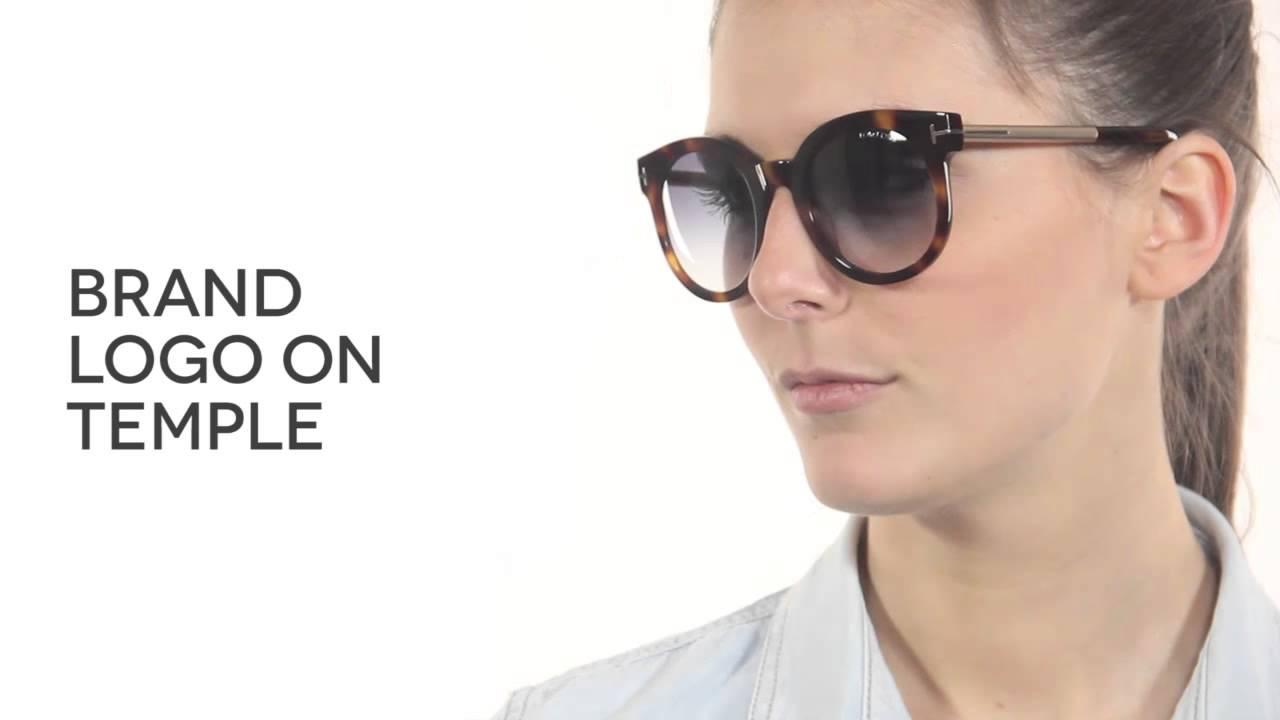 71da3923540 Tom Ford FT0435 JANINA 52P Sunglasses Review