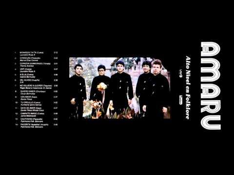 MÚSICA BOLIVIANA - AMARU - ALTO NIVEL EN FOLKLORE (1992) [FULL ALBUM]
