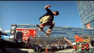 GoPro HD: Ryan Sheckler Skate Street Course Preview – Summer X Games 2012