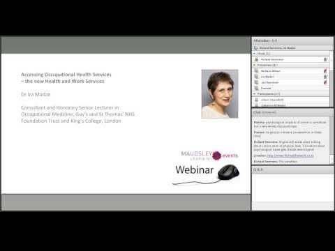 Happy at Work webinar - Maudsley Learning