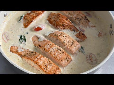 préparation-saumon-à-la-crème-(recette-rapide)