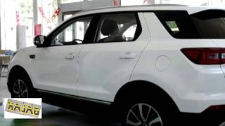 2018  Changan CS55 all new exterior