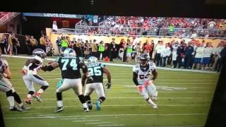 Von Miller sack fumble on Cam Newton Super Bowl 50