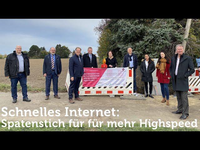 Start des geförderten Glasfaserausbaus im Ennepe-Ruhr-Kreis