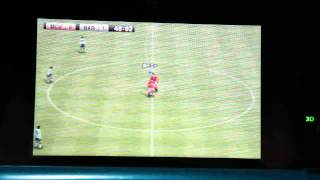winning eleven 3D soccer/pro evolution soccer 2011 on nintendo 3DS, TV camera (2/2)