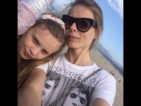 Ольга Фреймут и ее дочь