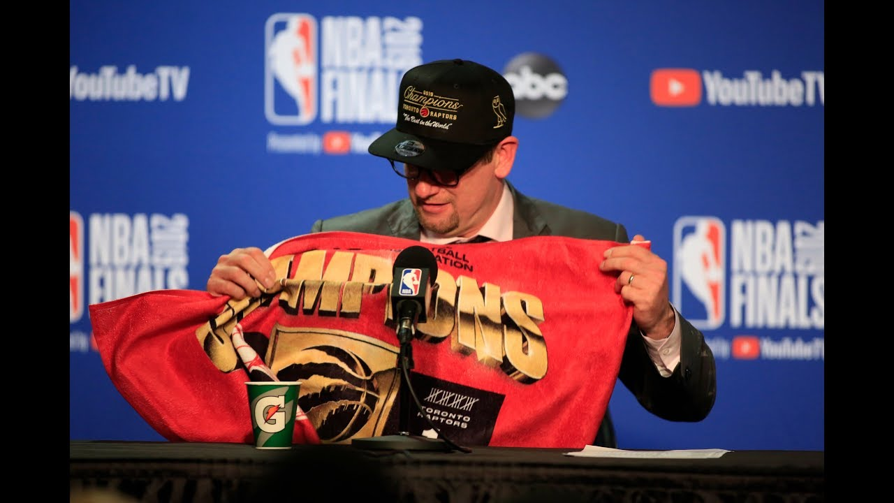 Nick Nurse Reacts To Winning NBA Title As Rookie Head Coach