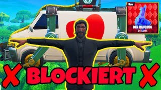 THAT happens when you BLOCK the FLUCHTWAGEN in Raid! | Fortnite