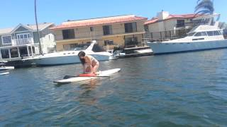 Stand Up Paddle Boarding SUP First Time Part 2