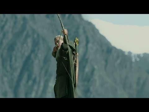 Every Arrow Legolas Shot In The Lord Of The Rings: The Two Towers (2002)