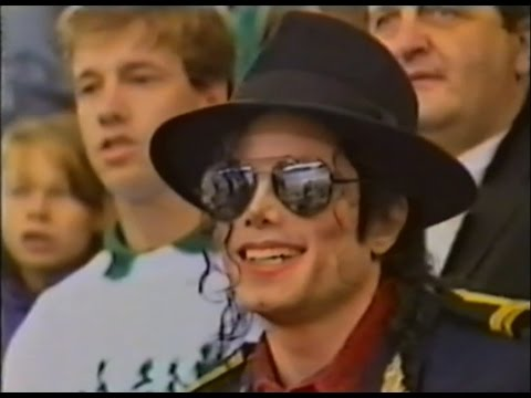 Michael Jackson in Moscow - 1996 (1)