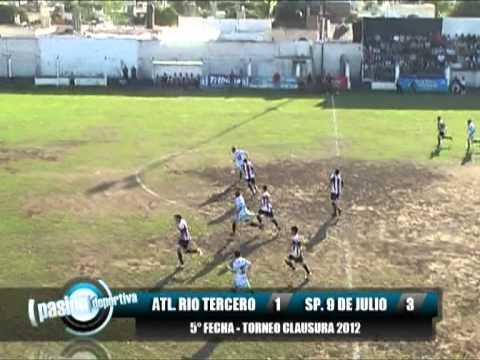 Atletico Rio Tercero 1 Sp. 9 de Julio 3, 5ª Fecha Clausura