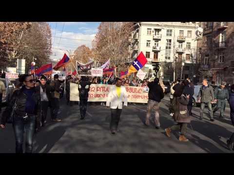 Ереван митинг памяти жертв событий 1 марта 2008г