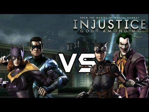 Bat Family Vs Batman's Rogues with Lore & Joker Skins!