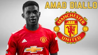 Amad Diallo Traore ● Welcome to Manchester United 2021 ● OFFICIAL! 🔴⚫🇨🇮