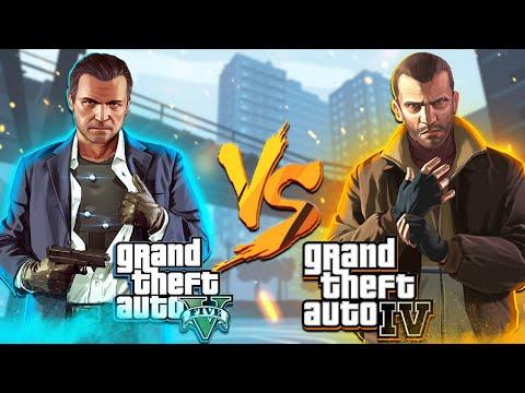 GTA 5 против GTA 4 | Какая часть ГТА лучше всех?
