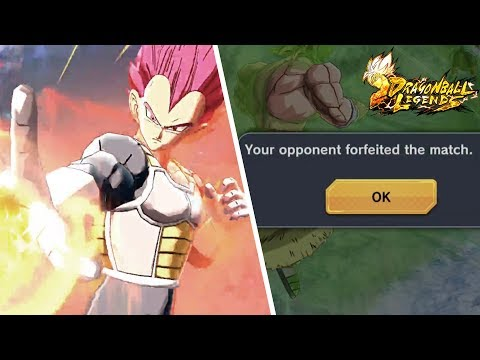 7 minutes of SSG Vegeta & Broly making people rage quit in DB Legends!