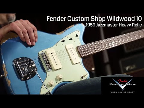 Fender Custom Shop Dealer Select Wildwood 10 1959 Jazzmaster Heavy Relic  •  Wildwood Guitars