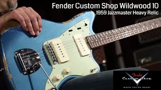 Baixar Fender Custom Shop Wildwood 10 1959 Jazzmaster Heavy Relic  •  Wildwood Guitars