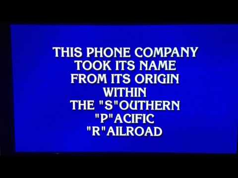 #Jeopardy Game Show- @Sprint Corporation History