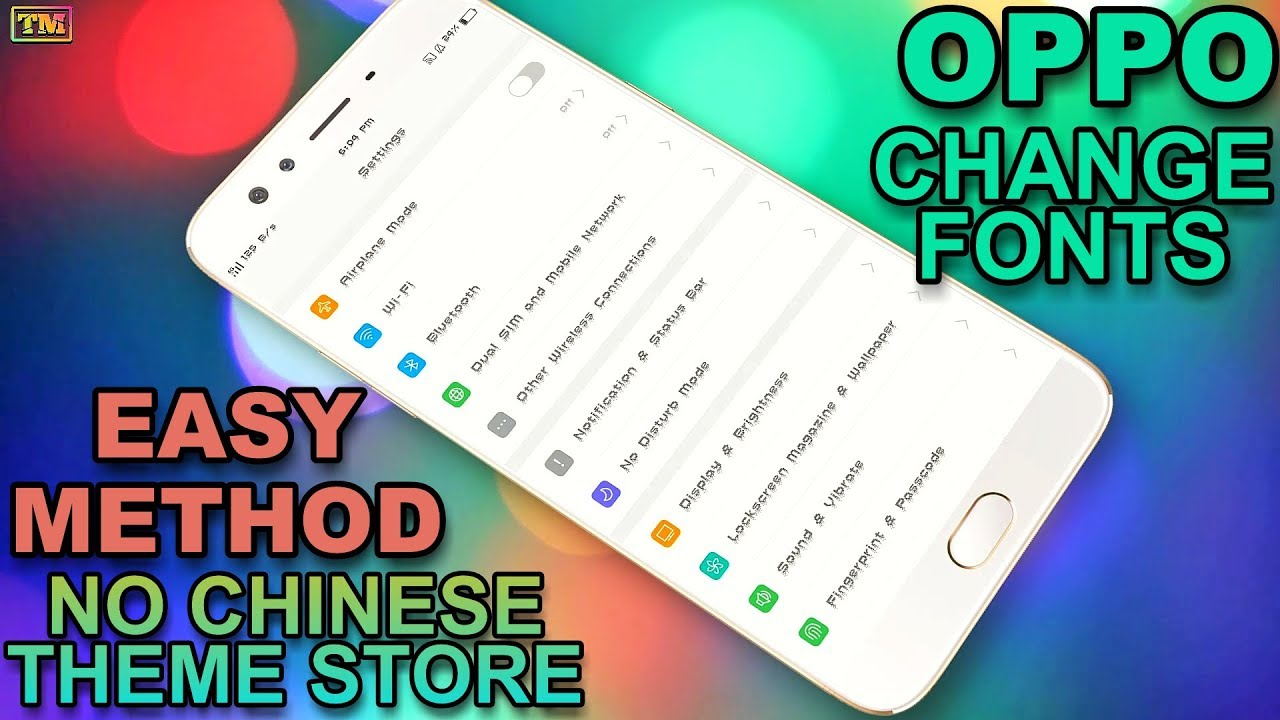 Font All Oppo Mode Apk