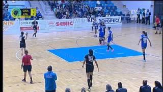 SCM Craiova - HC Zalău. Prima repriză