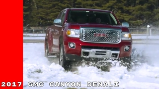 2017 GMC Canyon Denali Winter Test Drive