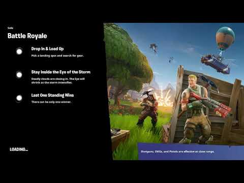 My first time playing fortnite on iPhone 6 Plus