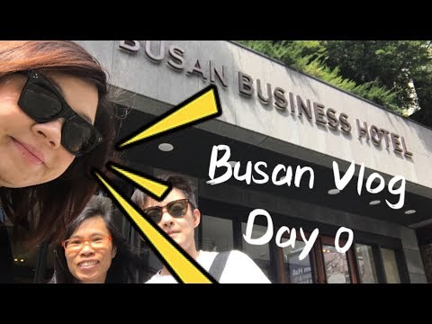 Busan Vlog Day 0 [30th Aug - 31st Aug] Busan Business Hotel