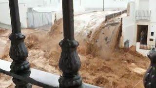 Estepa registra fuertes tormentas que causan daños en el municipio