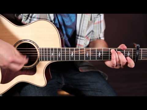"How To Play John Mayer ""XO"" (Beyonce Cover) Guitar Lesson How To Play On Guitar Tutorial"